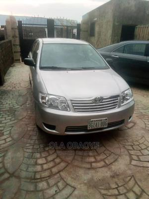 Toyota Corolla 2005 Verso 1.6 VVT-i Silver | Cars for sale in Lagos State, Ikeja