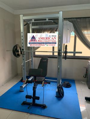 American Fitness Smith Machine Equipment (Brand New)   Sports Equipment for sale in Lagos State, Surulere