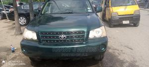 Toyota Highlander 2002 Green | Cars for sale in Lagos State, Amuwo-Odofin