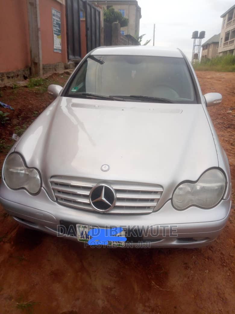 Mercedes-Benz C240 2002 Silver | Cars for sale in Idemili, Anambra State, Nigeria