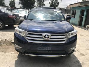 Toyota Highlander 2013 SE 3.5L 4WD Blue | Cars for sale in Lagos State, Maryland