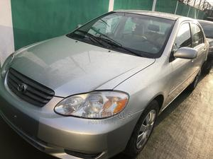 Toyota Corolla 2003 Sedan Automatic Silver | Cars for sale in Lagos State, Ogba