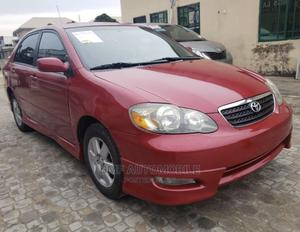 Toyota Corolla 2007 Red | Cars for sale in Lagos State, Agege