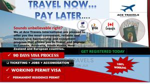 Get A Working Visa Now And Paylater   Travel Agents & Tours for sale in Lagos State, Ikeja