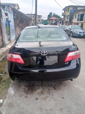 Toyota Camry 2008 2.4 LE Black | Cars for sale in Lagos State, Shomolu