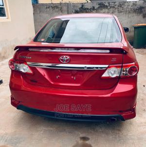 Toyota Corolla 2012 Red | Cars for sale in Lagos State, Ogba