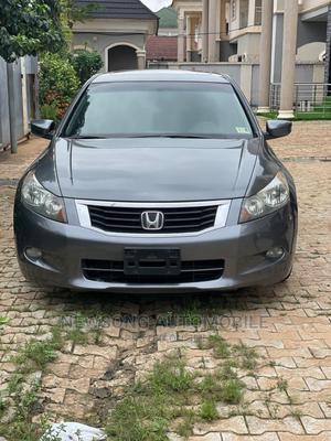 Honda Accord 2009 Sedan EX-L V6 Automatic Gray | Cars for sale in Abuja (FCT) State, Gwarinpa