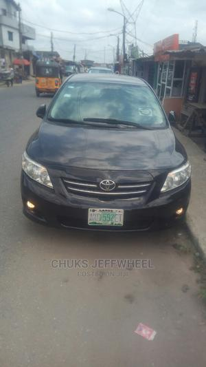 Toyota Corolla 2010 Black | Cars for sale in Lagos State, Isolo
