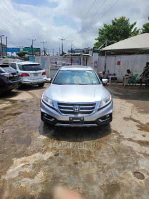 Honda Accord CrossTour 2014 EX-L W/Navigation AWD Silver | Cars for sale in Lagos State, Ikeja