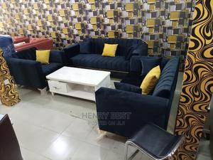 Brand New Fabric Suede Sofa Chair by Seven Seater's | Furniture for sale in Lagos State, Ojo