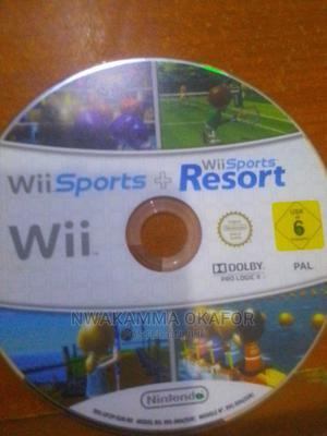 Wii Sports+Wii Sports Resort (Pal) | Video Games for sale in Lagos State, Ojo