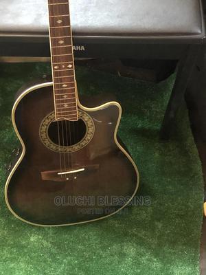 USED Sepia Crue Custom Semi Acoustic Guitar | Musical Instruments & Gear for sale in Lagos State, Mushin