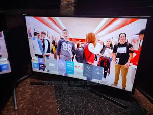 """40"""" Samsung Smart Uhd 4k Curved Screen Tv   TV & DVD Equipment for sale in Lagos State, Ojo"""