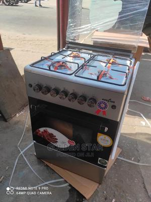 New Kenstar Stand Gas Cooker 4 Burner Auto With Oven Grill   Kitchen Appliances for sale in Lagos State, Ojo