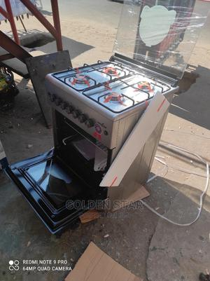 ✓ New Kenstar Stand Gas Cooker 4 Burner Auto With Oven Grill   Kitchen Appliances for sale in Lagos State, Ojo