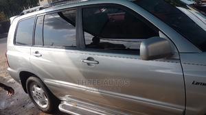 Toyota Highlander 2004 Limited V6 4x4 Silver | Cars for sale in Lagos State, Ojodu