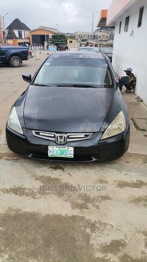 Honda Accord 2003 Automatic Black   Cars for sale in Lagos State, Ojo