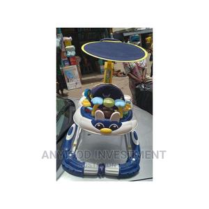 Baby Walker With Pusher and Head Cover   Children's Gear & Safety for sale in Lagos State, Lagos Island (Eko)