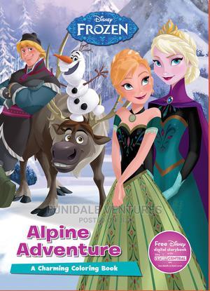 Disney Frozen: Alpine Adventure Colouring Book   Books & Games for sale in Lagos State, Surulere