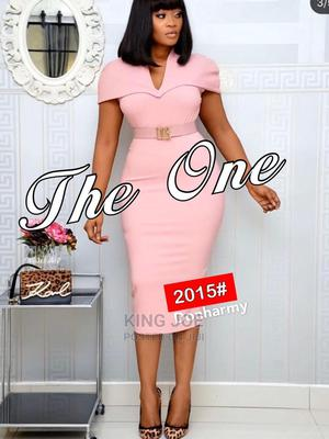Classic Ladies Fitted Gown | Clothing for sale in Lagos State, Ikeja