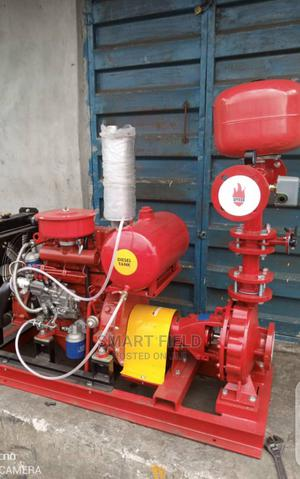 Single Cylinder Fire Hydrant Pump Coupled With Diesel Engine   Plumbing & Water Supply for sale in Lagos State, Orile