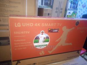 Lg 50inch Smart Tv Uhd   TV & DVD Equipment for sale in Lagos State, Alimosho
