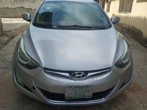 Hyundai Elantra 2014 Silver | Cars for sale in Lagos State, Ikeja