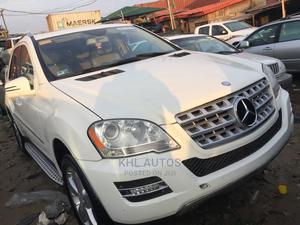 Mercedes-Benz M Class 2010 ML 350 4Matic White   Cars for sale in Lagos State, Apapa