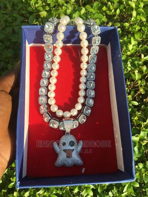 Pearl and Ice Box With Ghost Pendant   Jewelry for sale in Lagos State, Ikeja