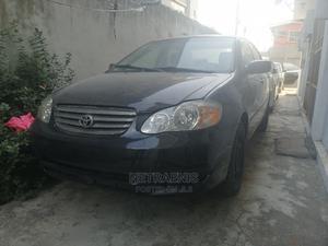 Toyota Corolla 2003 Sedan Automatic Black | Cars for sale in Lagos State, Kosofe