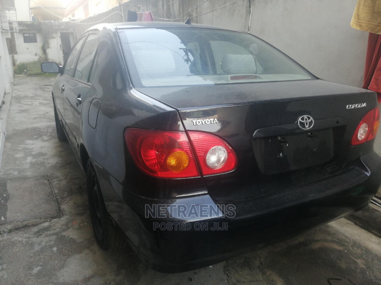 Toyota Corolla 2003 Sedan Automatic Black | Cars for sale in Kosofe, Lagos State, Nigeria