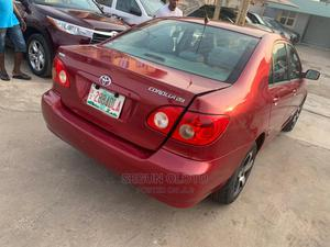 Toyota Corolla 2007 Red   Cars for sale in Lagos State, Maryland