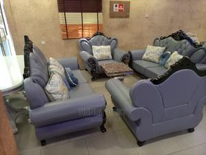 Brand New Pure Leather Sofa Chair, by Seven Seater | Furniture for sale in Lagos State, Gbagada