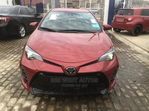 Toyota Corolla 2017 Red | Cars for sale in Lagos State, Surulere