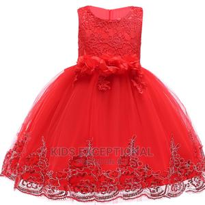 Red Ball Gown | Children's Clothing for sale in Lagos State, Surulere