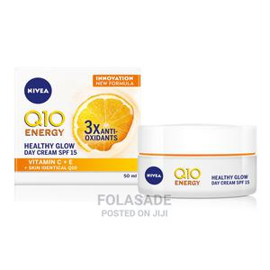 NIVEA Q10 Energy Healthy Glow Face Day Cream (50ml) | Skin Care for sale in Lagos State, Ikeja