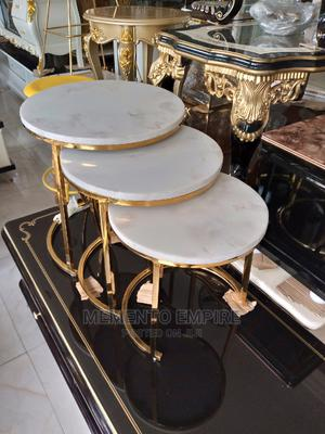 Three Step Marble Round Table, | Furniture for sale in Lagos State, Lekki
