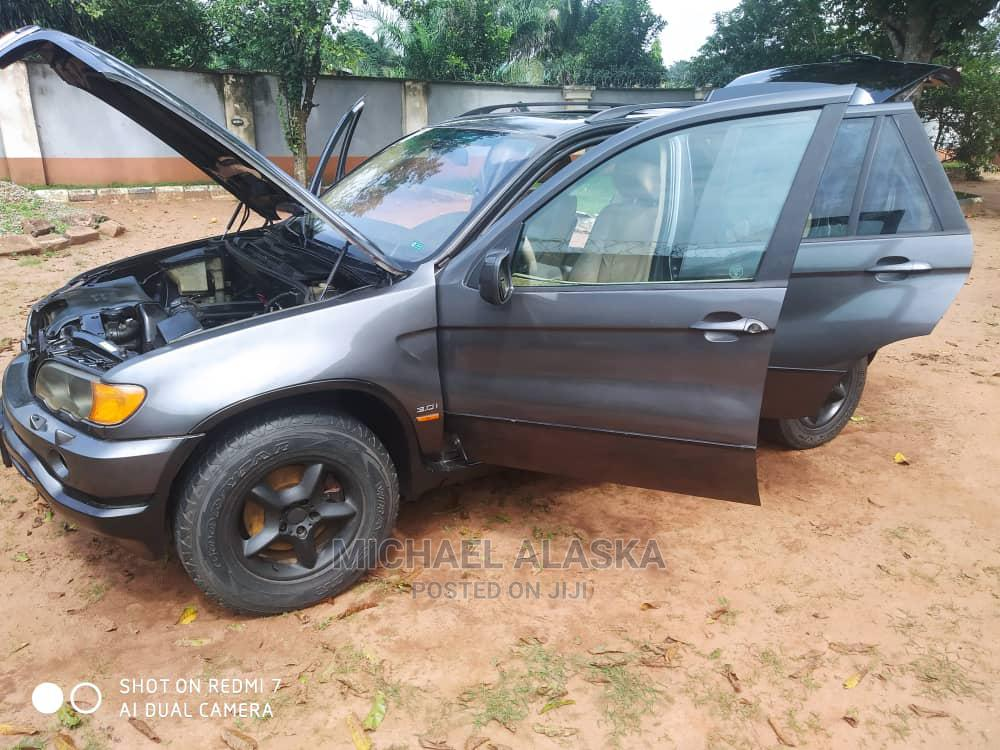 BMW X5 2008 3.0i Gray   Cars for sale in Oshimili South, Delta State, Nigeria