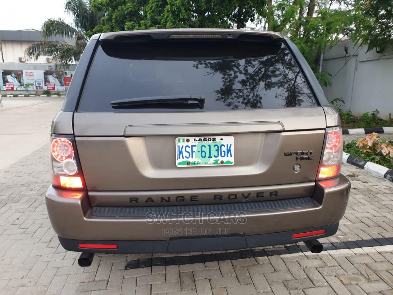 Land Rover Range Rover Sport 2010 HSE 4x4 (5.0L 8cyl 6A) Brown   Cars for sale in Ikeja, Lagos State, Nigeria
