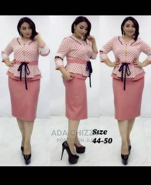 New Quality Female Turkey Blouse With Skirt | Clothing for sale in Lagos State, Gbagada
