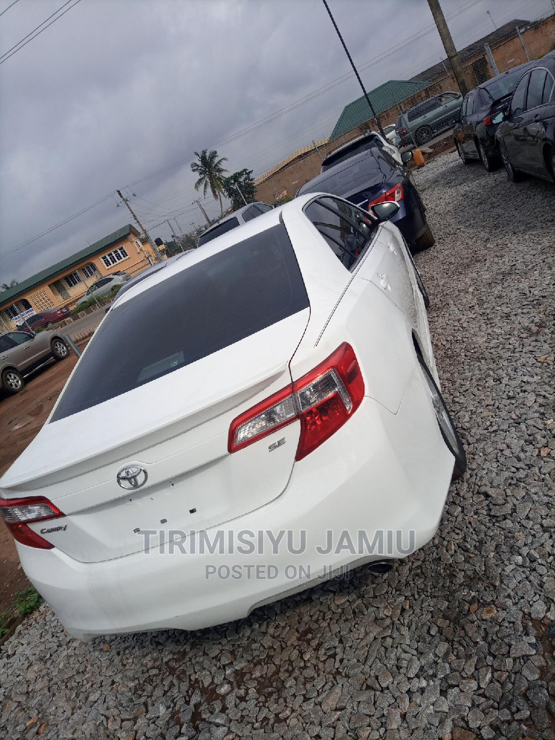 Toyota Camry 2012 White | Cars for sale in Ibadan, Oyo State, Nigeria