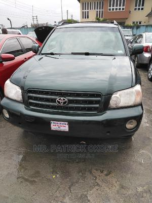 Toyota Highlander 2002 V6 AWD Green   Cars for sale in Rivers State, Port-Harcourt