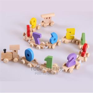 Children Wooden Number Train Toy - Montessori Education | Toys for sale in Lagos State, Ajah