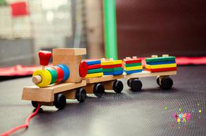 Wooden Train Toddler, Shape Sorter and Stacking Toy Wooden | Toys for sale in Lagos State, Ajah