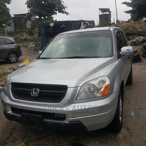 Honda Pilot 2003 LX 4x4 (3.5L 6cyl 5A) Silver | Cars for sale in Lagos State, Apapa