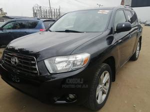 Toyota Highlander 2008 Black   Cars for sale in Lagos State, Ojodu