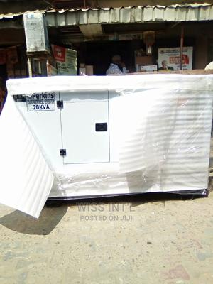 Perkins Soundproof Generator 20KVA | Electrical Equipment for sale in Lagos State, Eko Atlantic