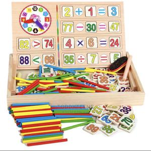 Montessori Educational Mathematical Wooden Toy Box Set Gift | Toys for sale in Lagos State, Ajah