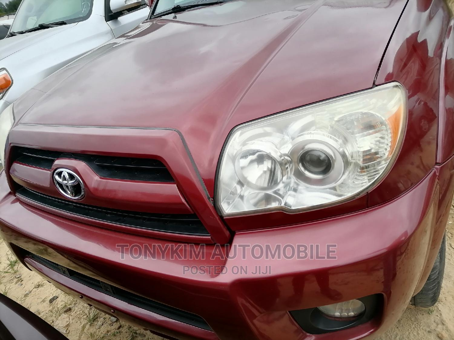 Toyota 4-Runner 2006 Limited 4x4 V6 Red   Cars for sale in Amuwo-Odofin, Lagos State, Nigeria