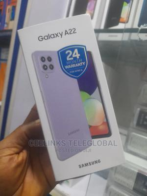 New Samsung Galaxy A22 128 GB Purple | Mobile Phones for sale in Lagos State, Ikeja